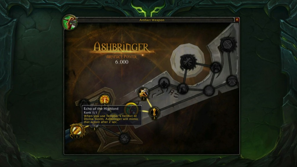 Ashbringer Upgrades